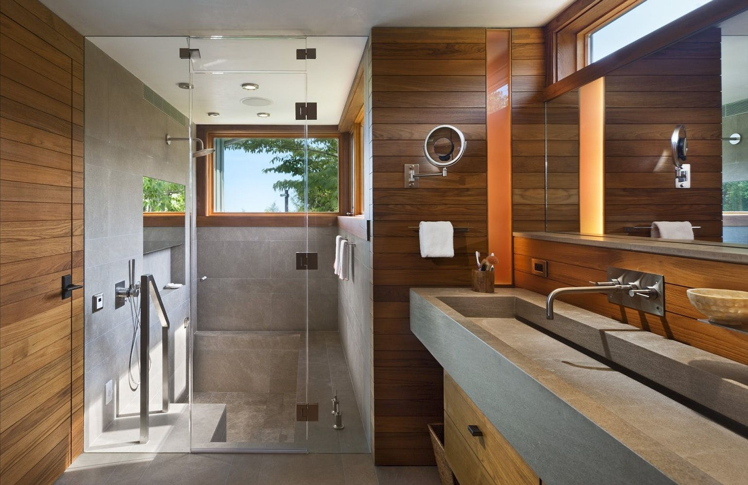 40 Bathrooms with Standing Showers  Bathroom design