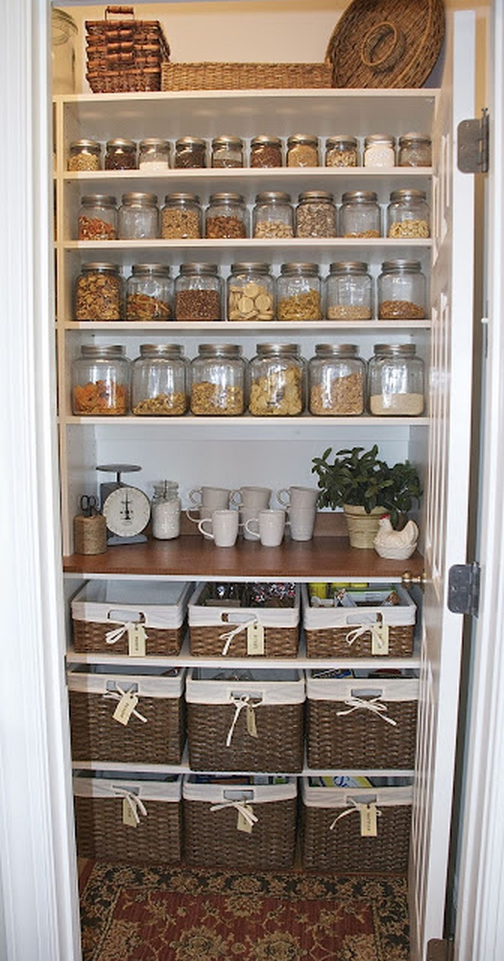 60 Pantry Organization Ideas 54  Kitchen organization