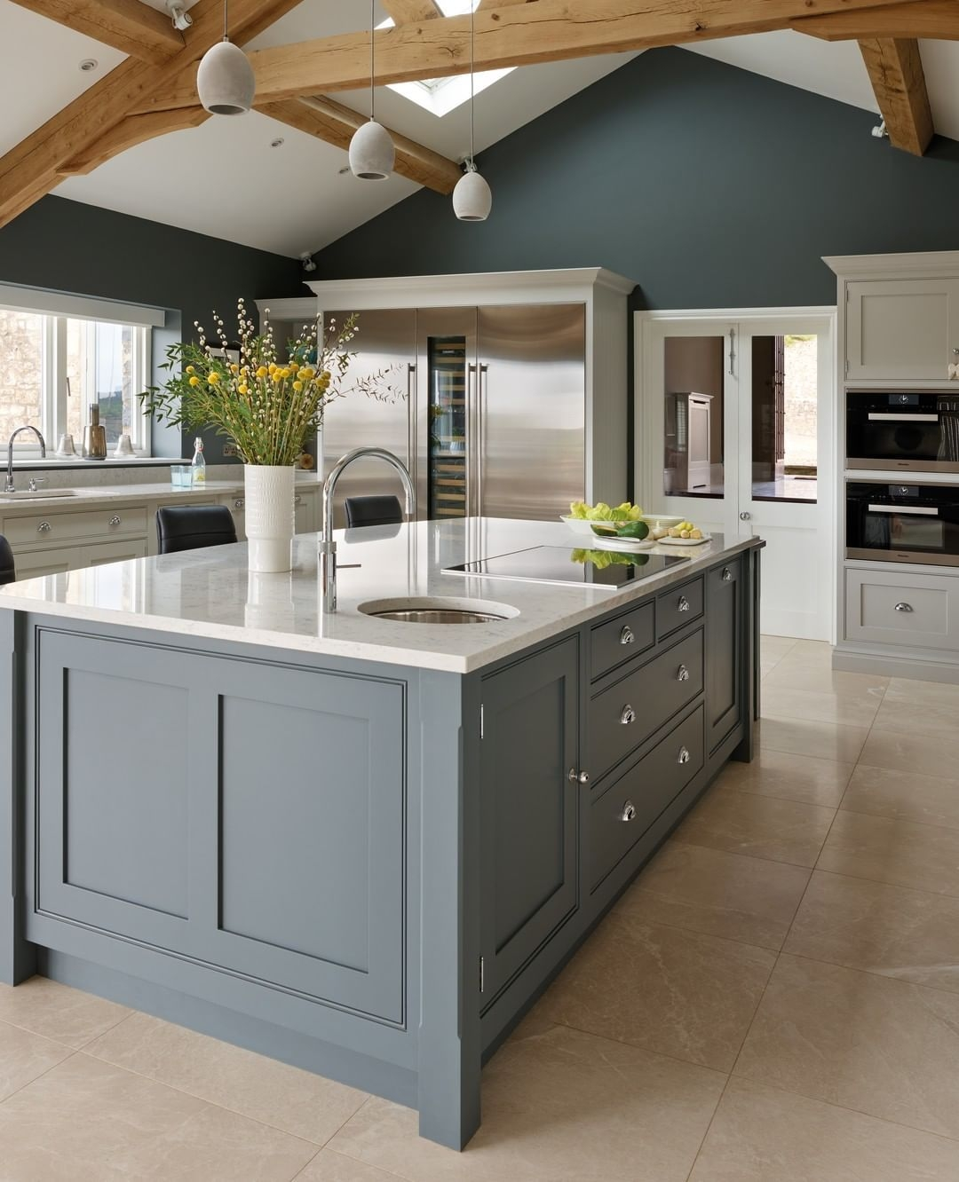 A new spacious kitchen completely transformed the way in