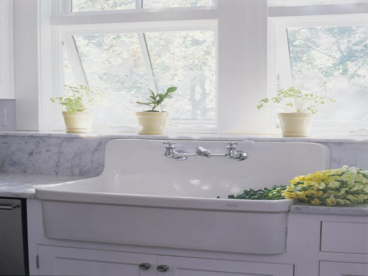 American standard cast iron sink porcelain farmhouse