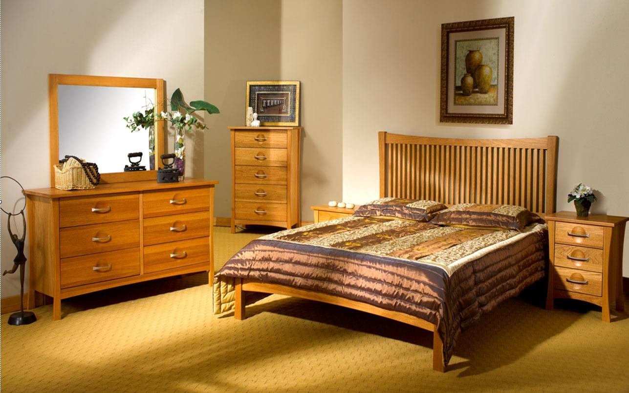 Amish Light Oak Bedroom Furniture  Fanpageanalytics Home