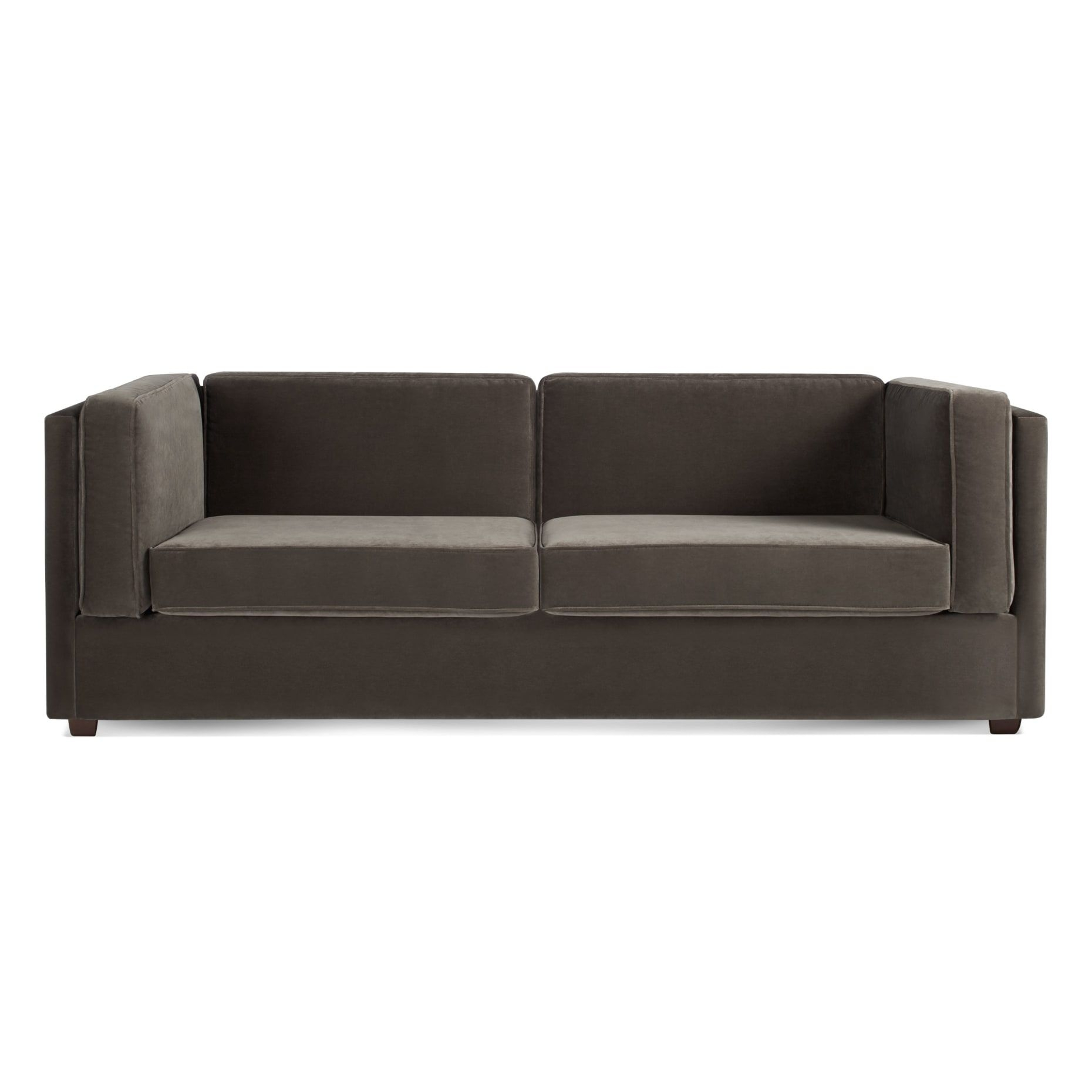 Bank Mink Velvet 80 Sleeper Sofa  Velvet sleeper sofa