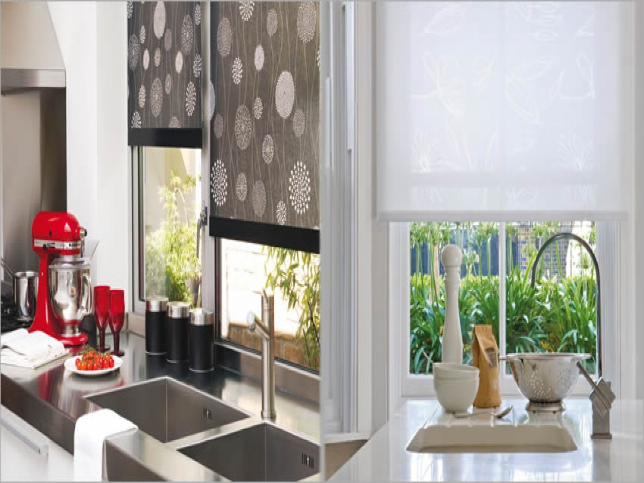 Blinds and curtains ideas kitchen window blinds ideas