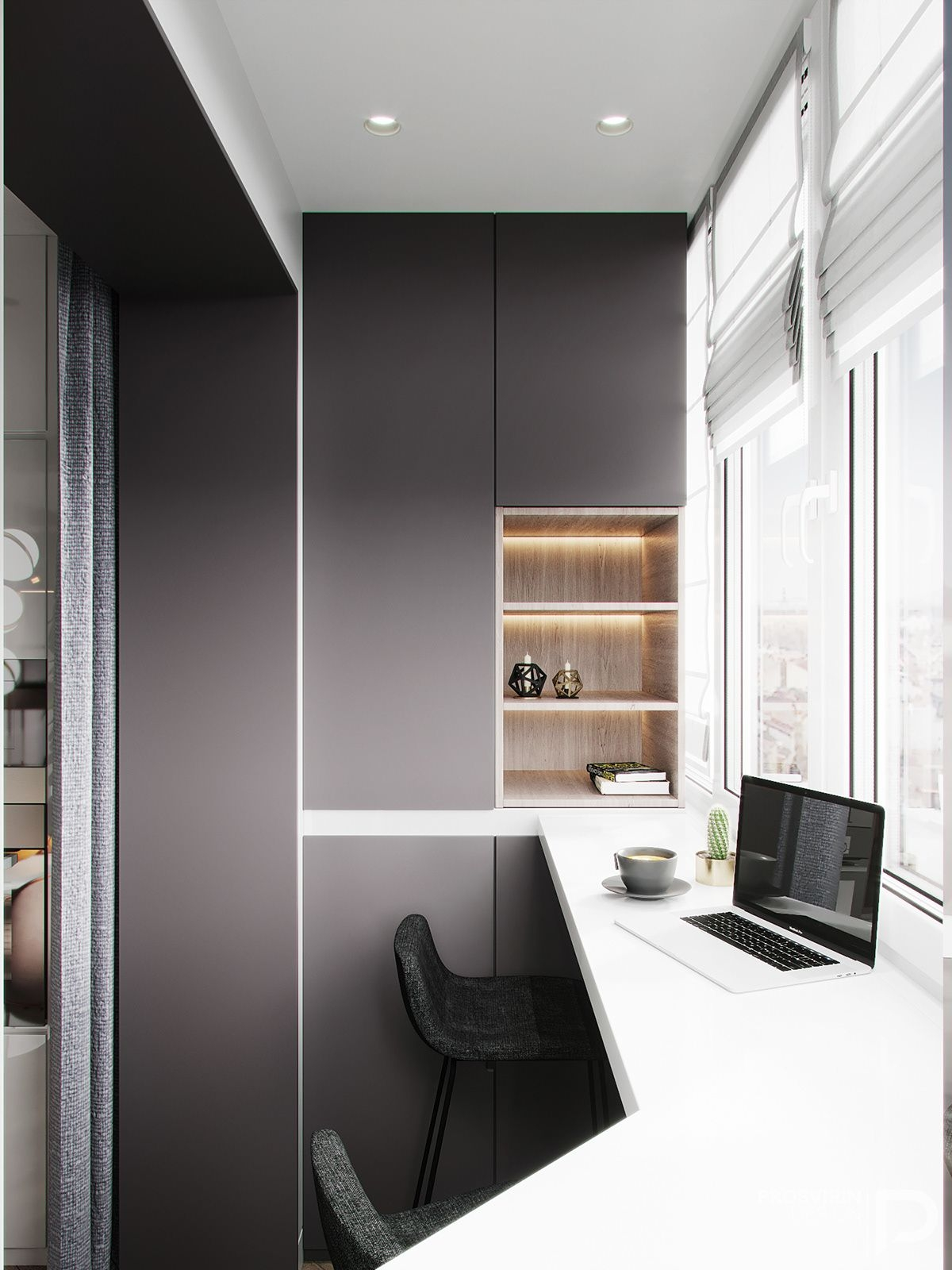 CRISP on Behance With images  Home office design Small