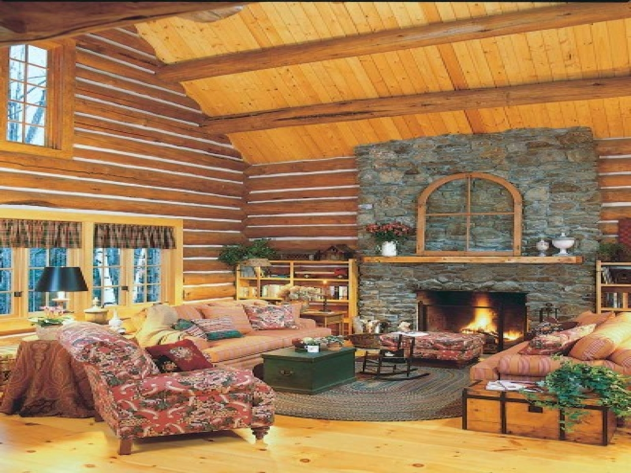 Cabin inspired bedrooms log cabin home decorating ideas