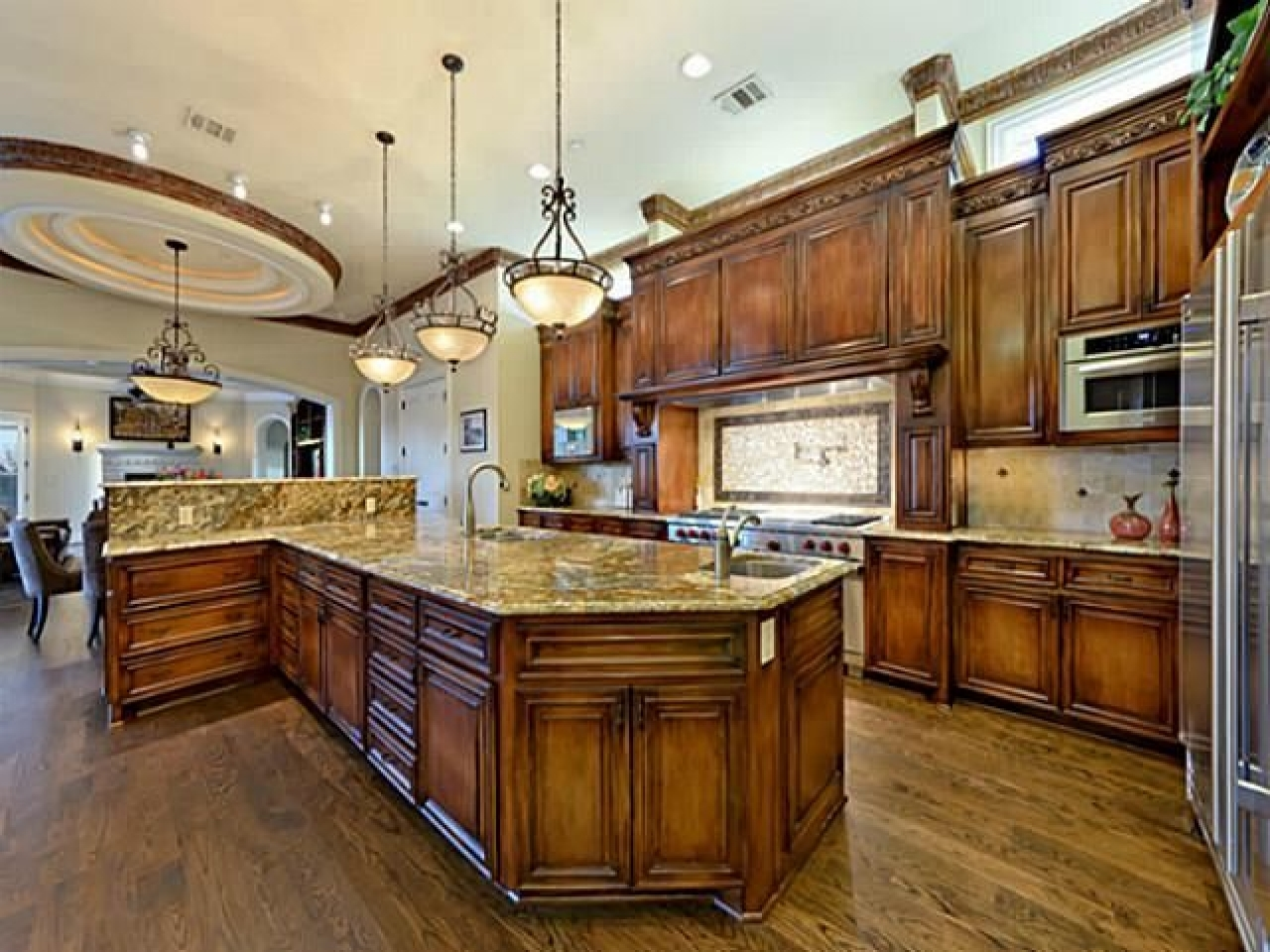 Crown room ideas luxury kitchens most beautiful kitchens