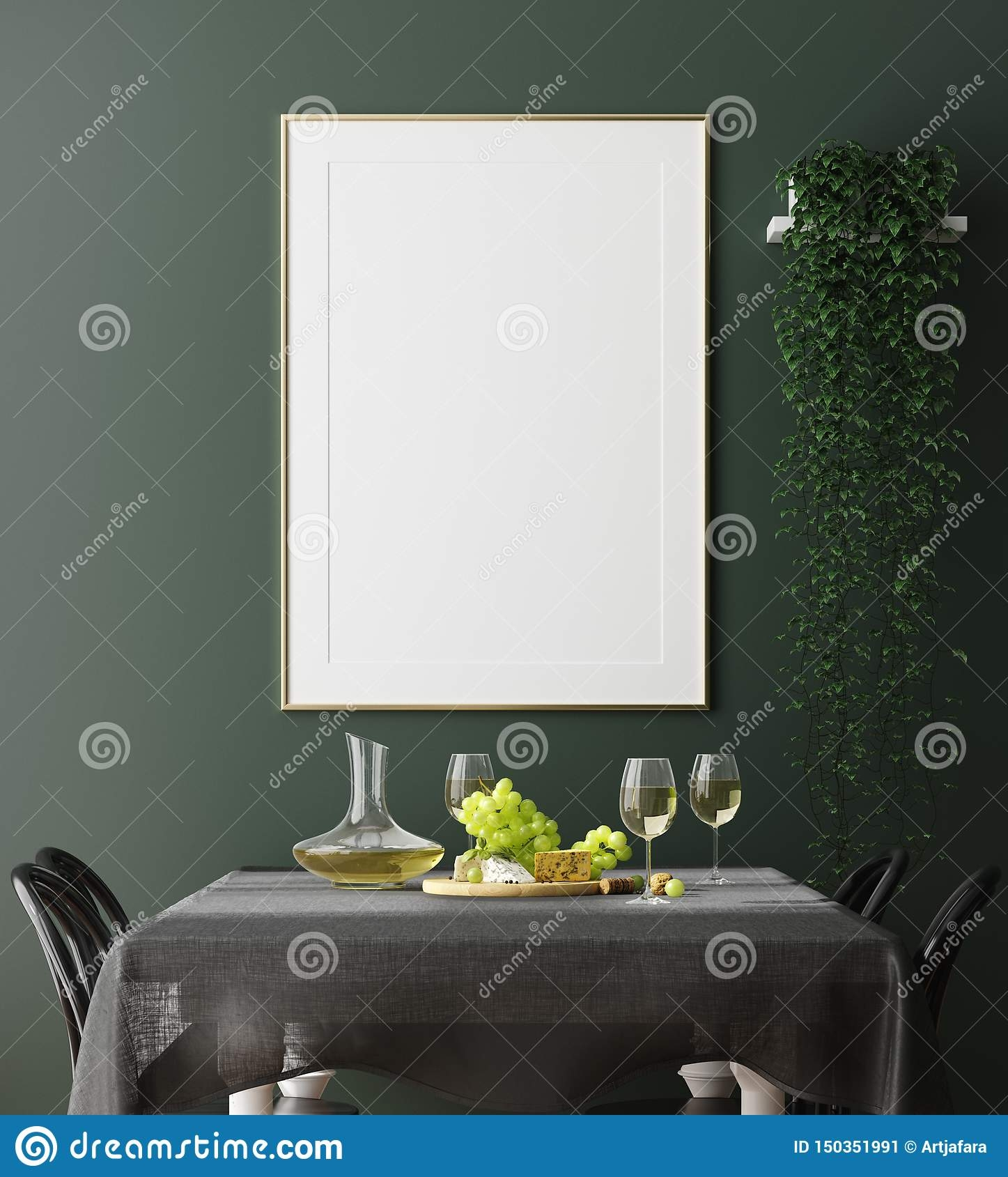 Dark Green And Grey Dining Room  All Best Wallpappers HD 1