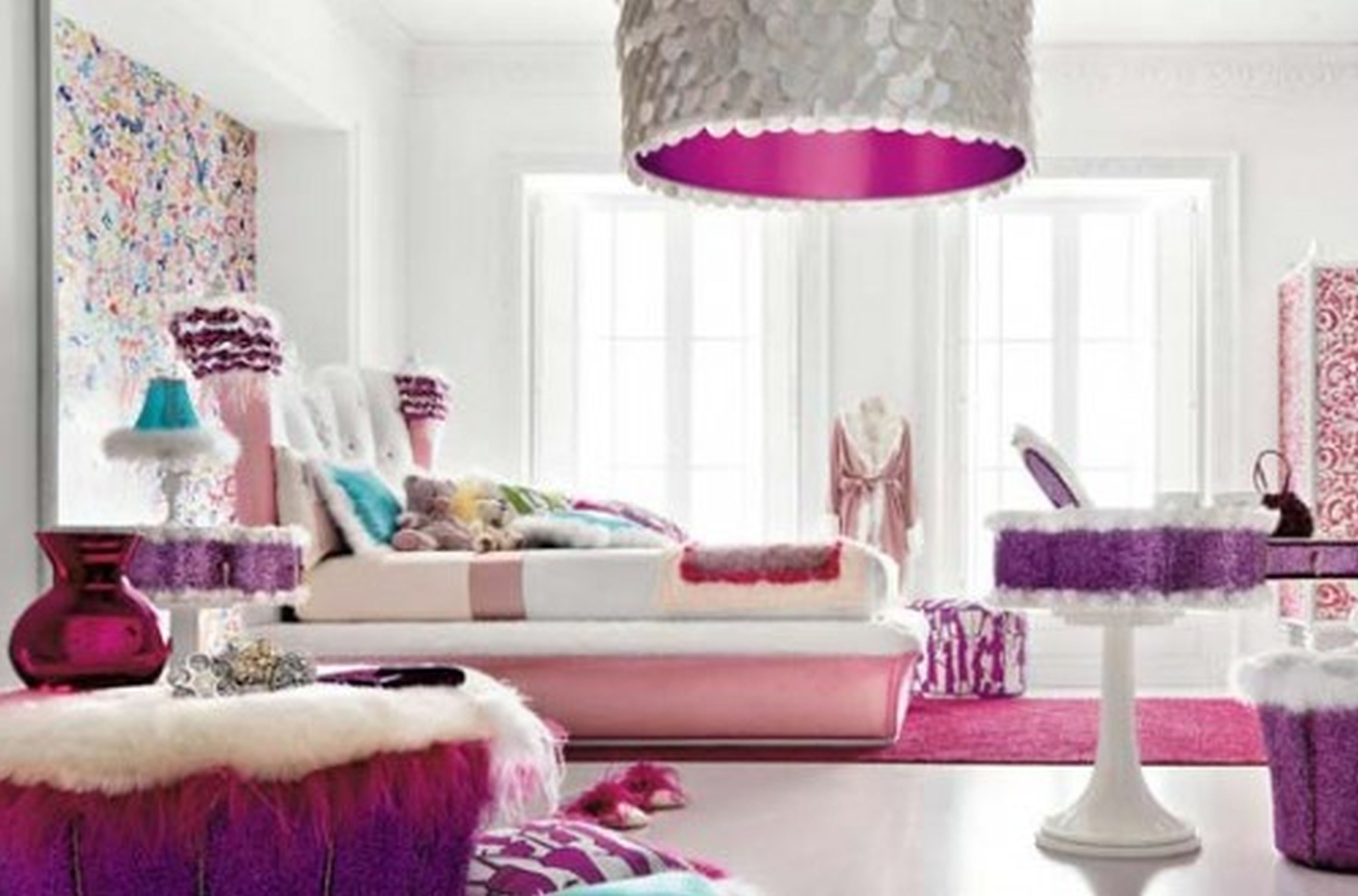 Decor Fun And Cute Teenage Girl Bedroom Ideas
