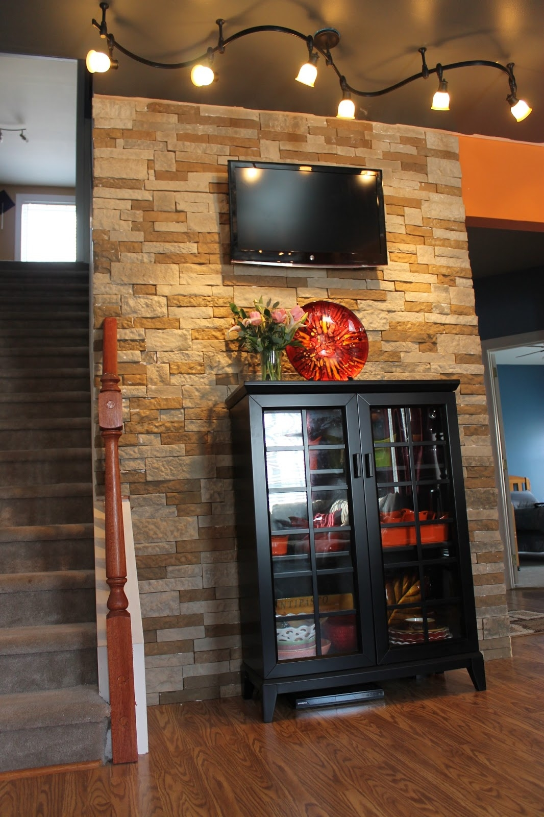 Decorating Recommended Lowes Airstone For Wall Decor