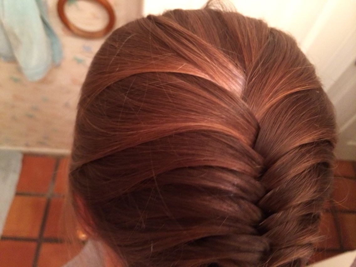 French fish tail  Hair