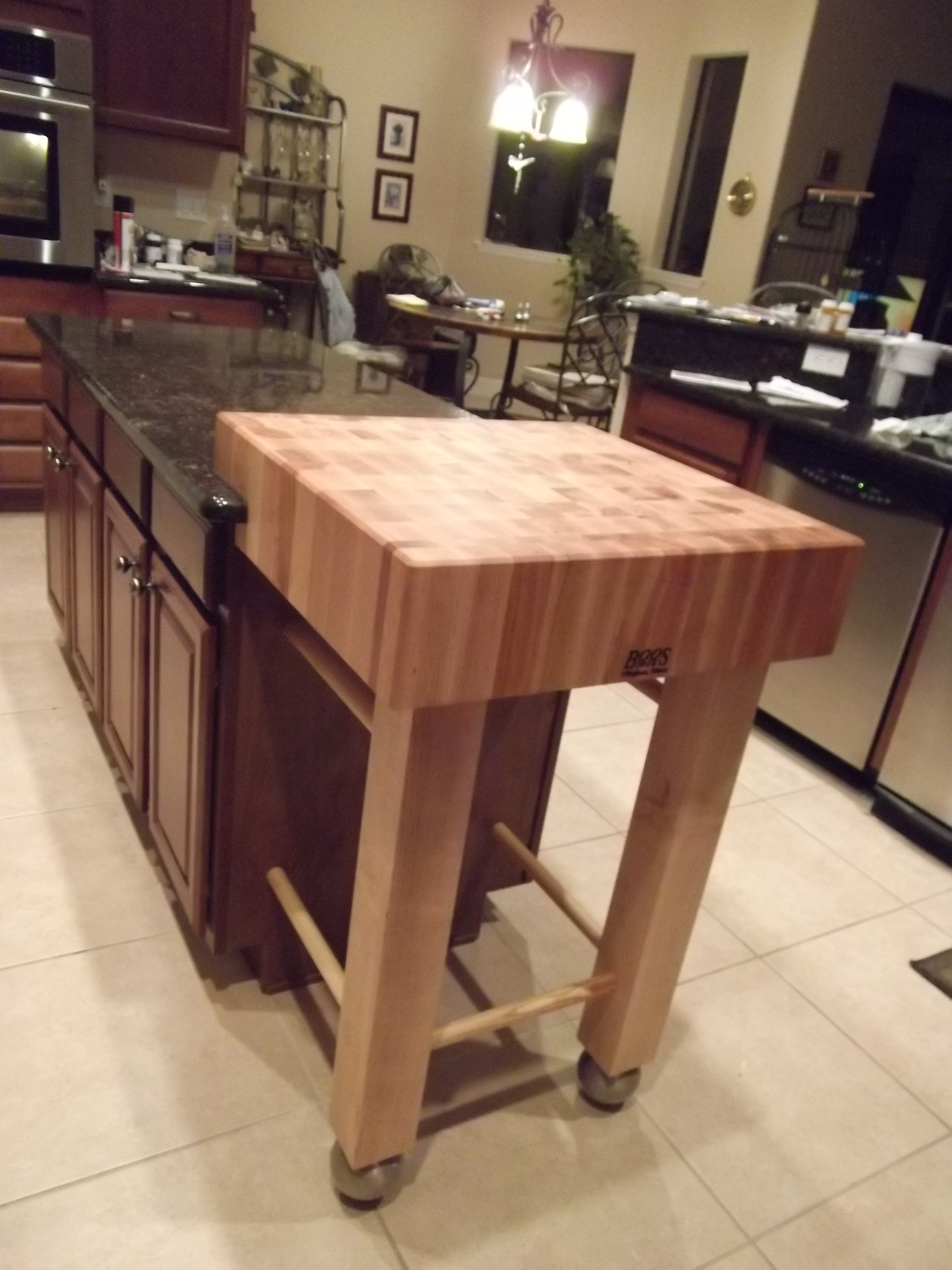Furniture Make Your Kitchen Beautiful With Butcher Block