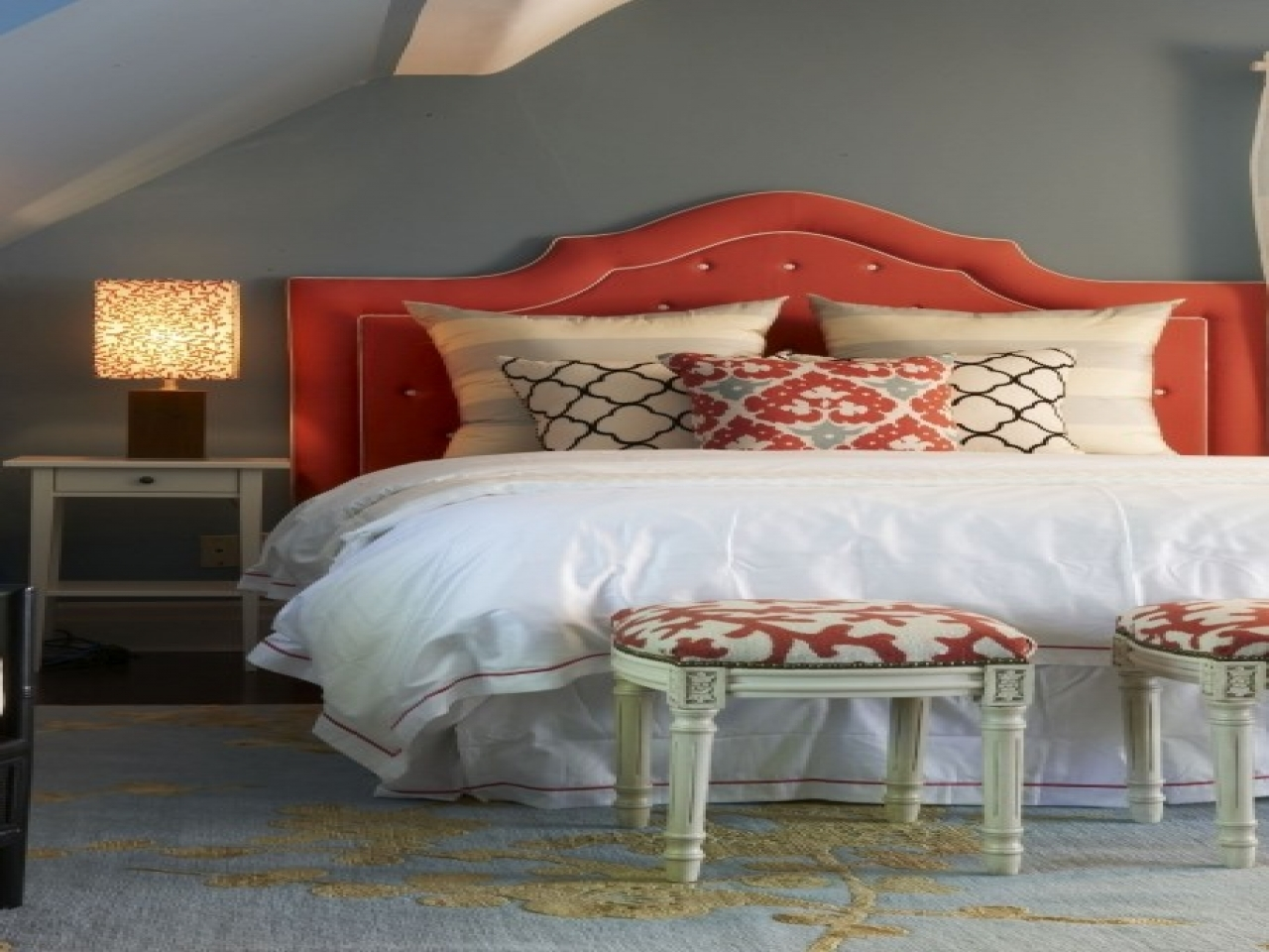 Gray and orange bedroom grey and coral bedroom coral and