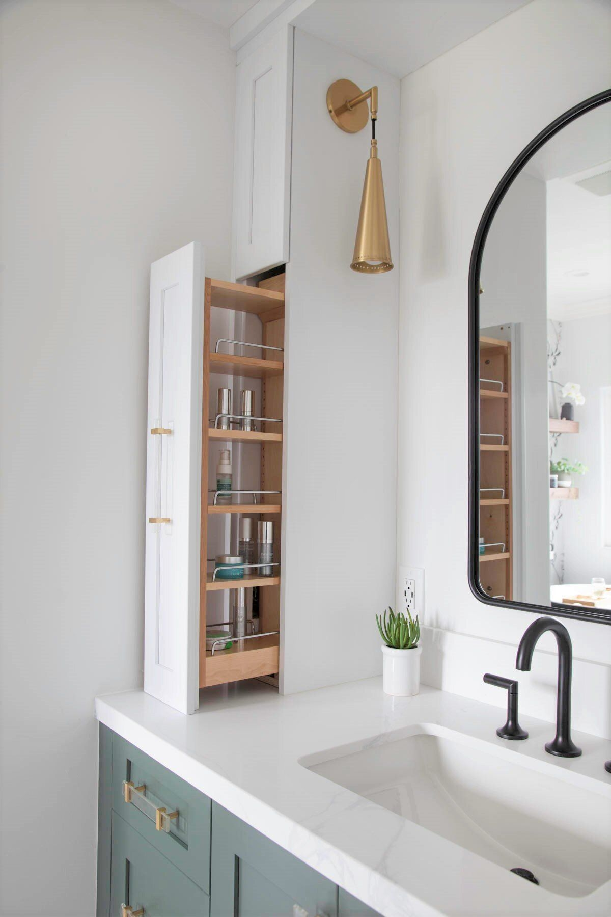 Houzz Bathroom of the Week Modern Farmhouse and a Nod to