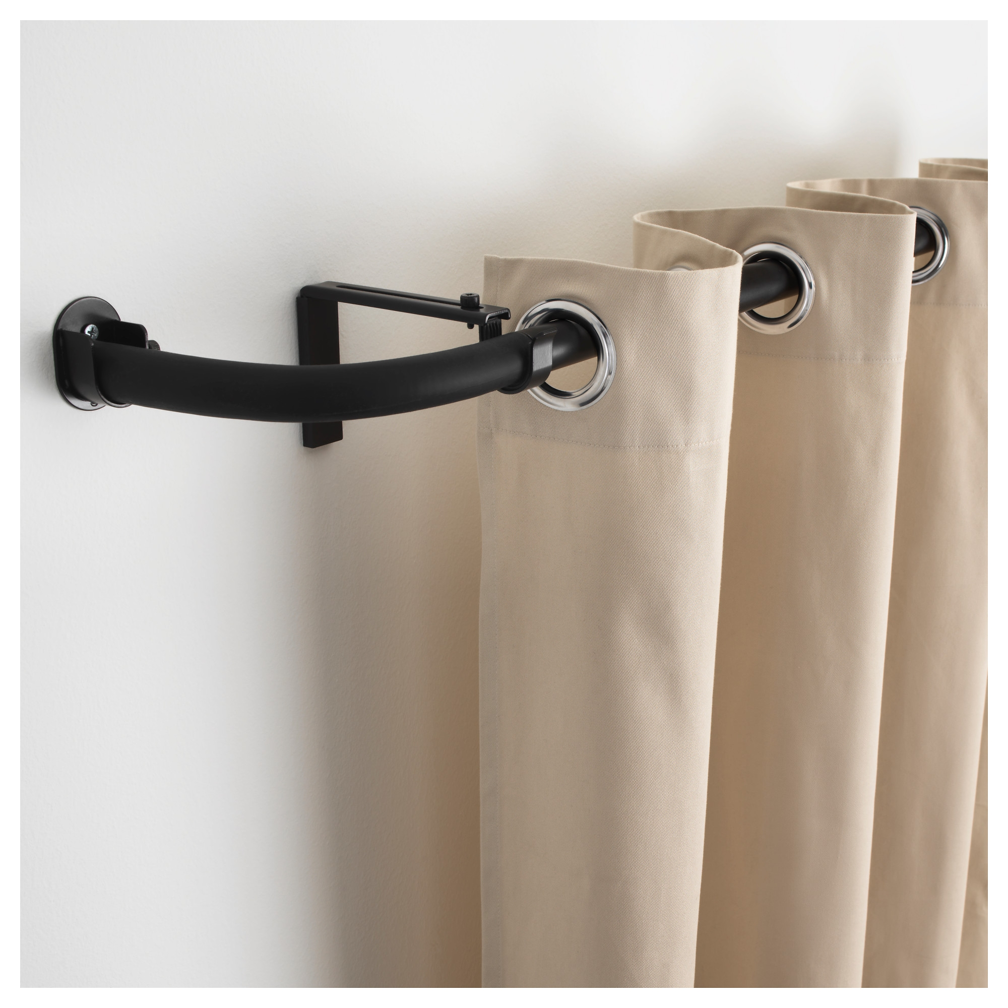 Ideas Magnetic Curtain Rod Lowes For Metal Doors Or Metal