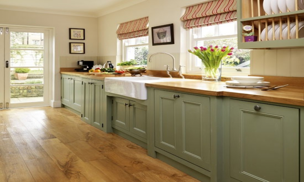 Ideas for kitchen diners sage green kitchens colors