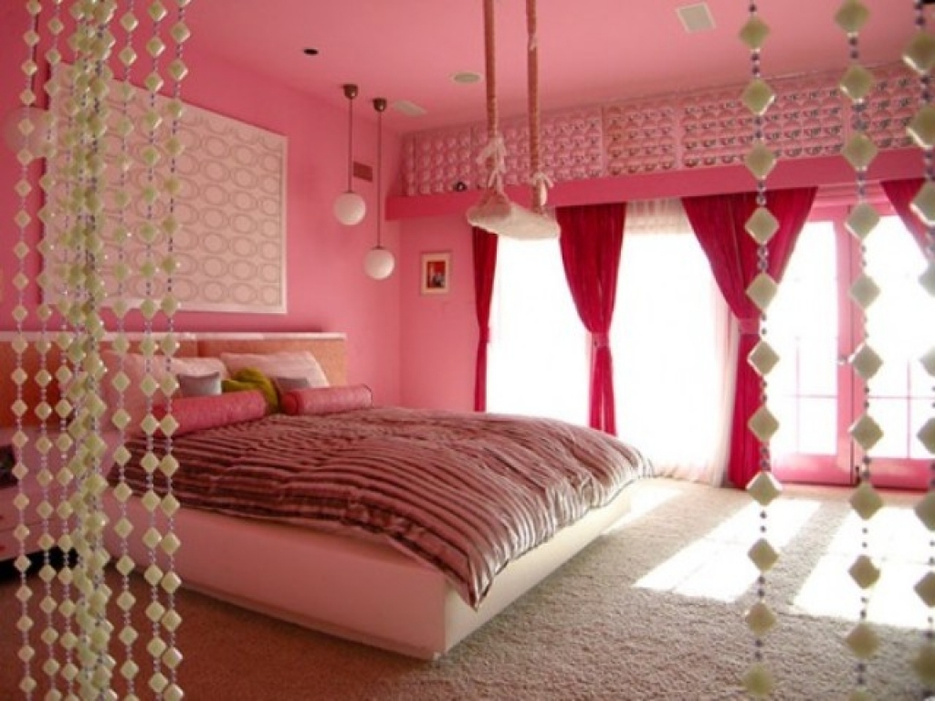 Indian style bedrooms girly pink bedroom decorating ideas