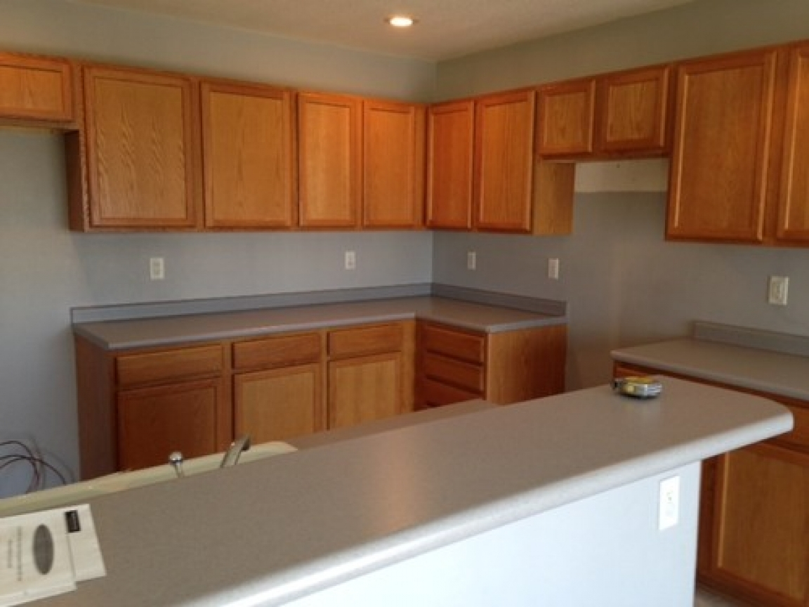 Kitchen paint colors with dark cabinets gray kitchen
