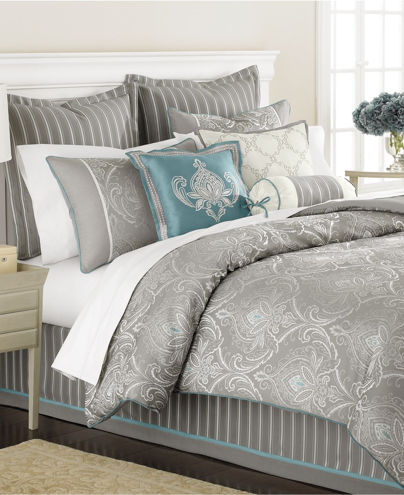 Martha Stewart Collection Bedding Briercrest 9 Piece