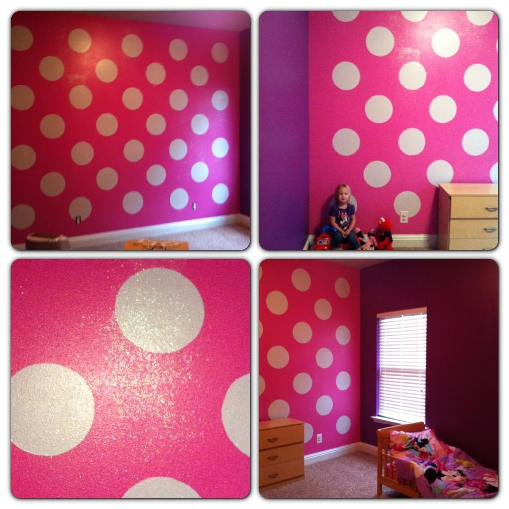 Minnie Mouse Bedroom  Girl room Little girl rooms Pink