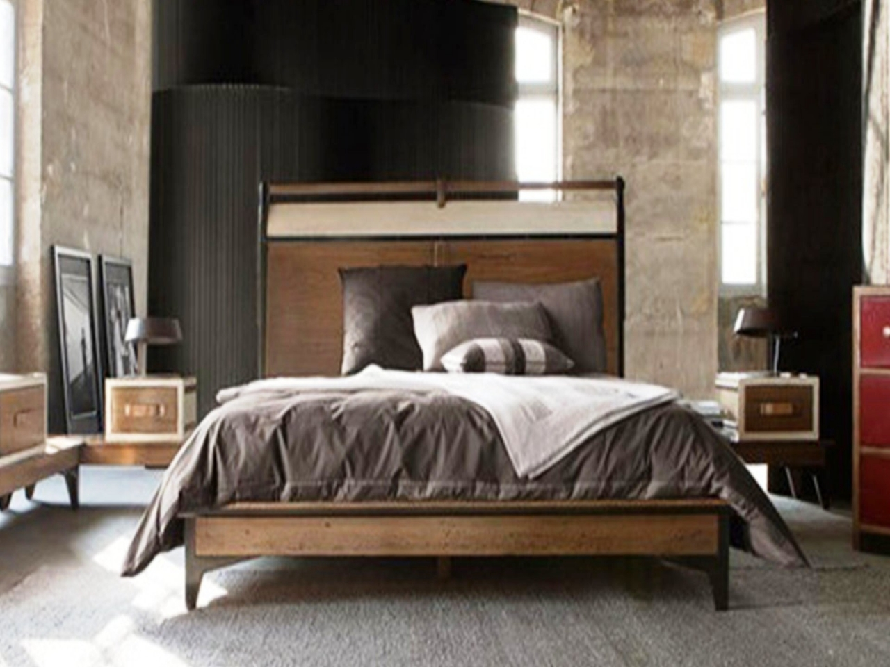 Modern design sleeping room rustic teen bedroom ideas