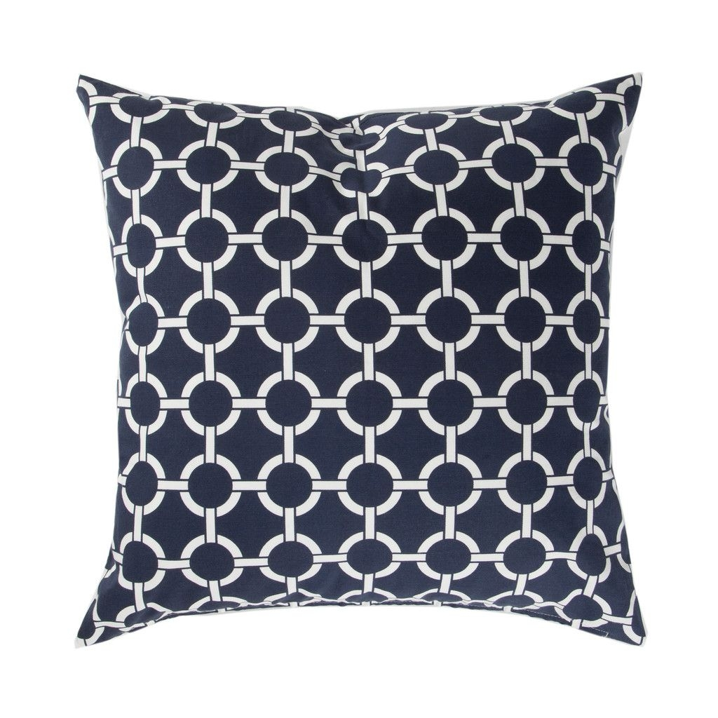 Navy Links Pillow With images  Pillows Navy pillows