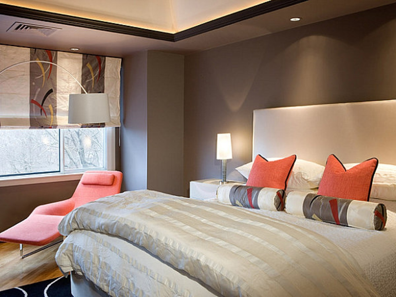 Navy and pink bedroom ideas coral and gray bedding coral