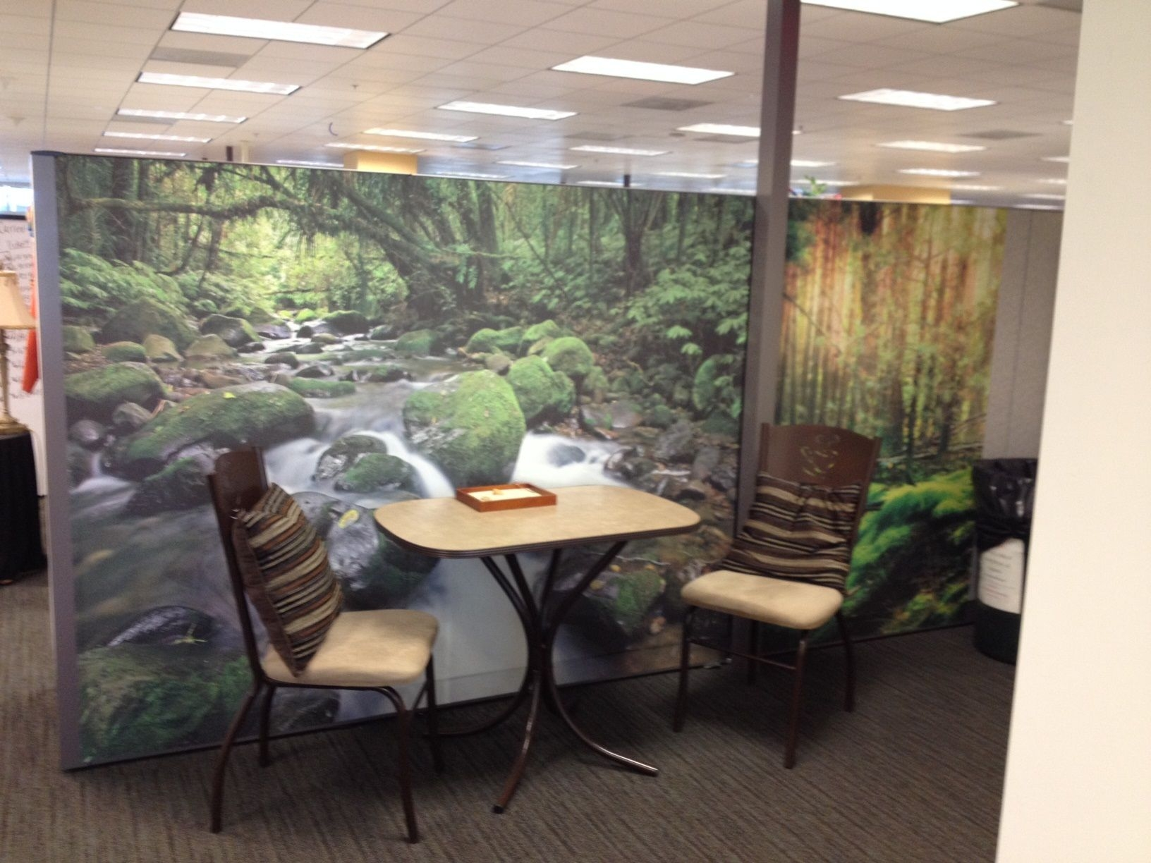 Office meeting place decorate by Dream Cubicle Wallpaper