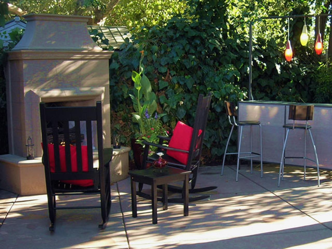 Outdoor Kitchen Ideas on a Budget Pictures Tips  Ideas