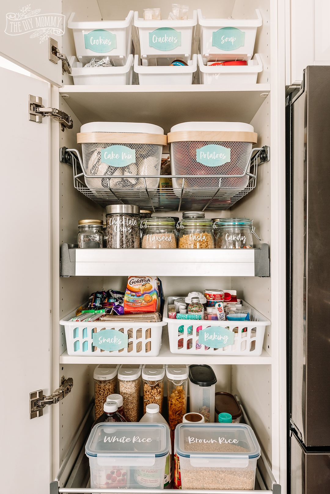 Pantry Home Organization Ideas