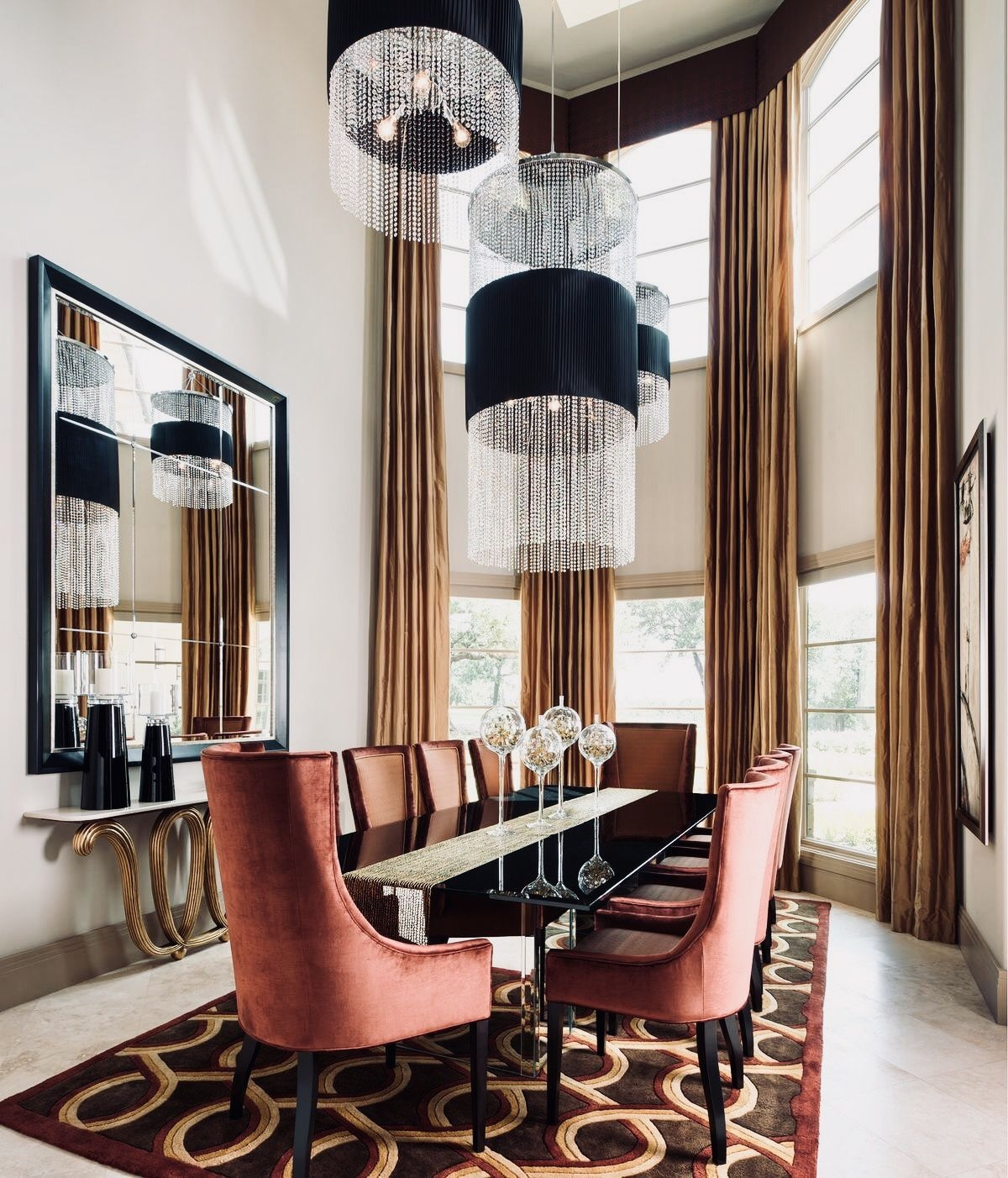 Pin by  on        Elegant dining room
