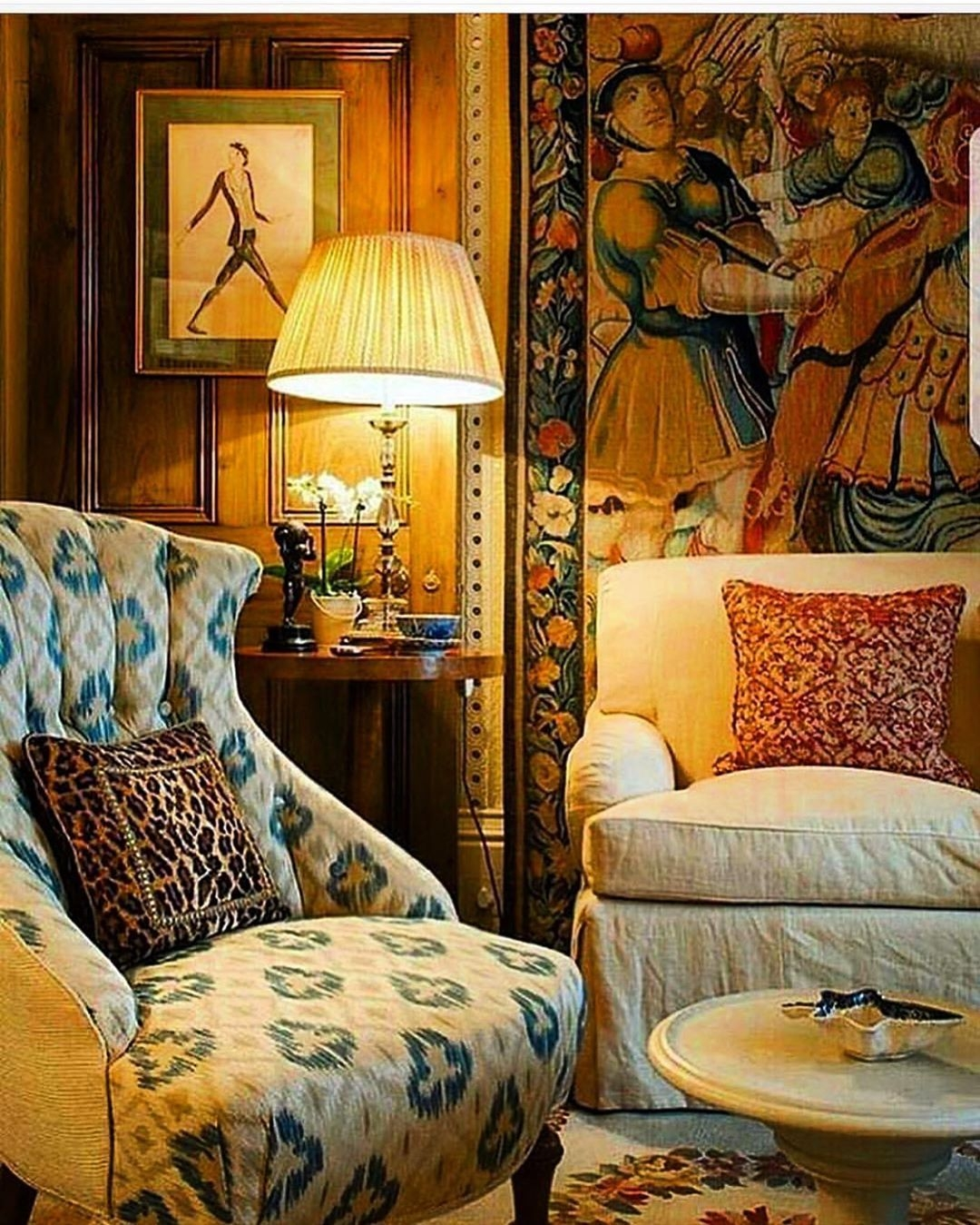 SECRETS OF A HOSTESS on Instagram Accent chair by