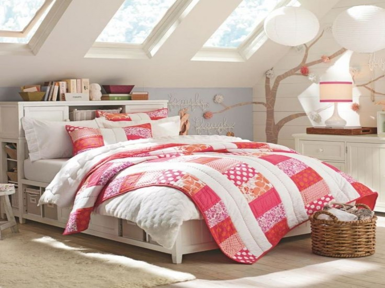 Small Attic Room Designs Bedrooms With Slanted Teenage