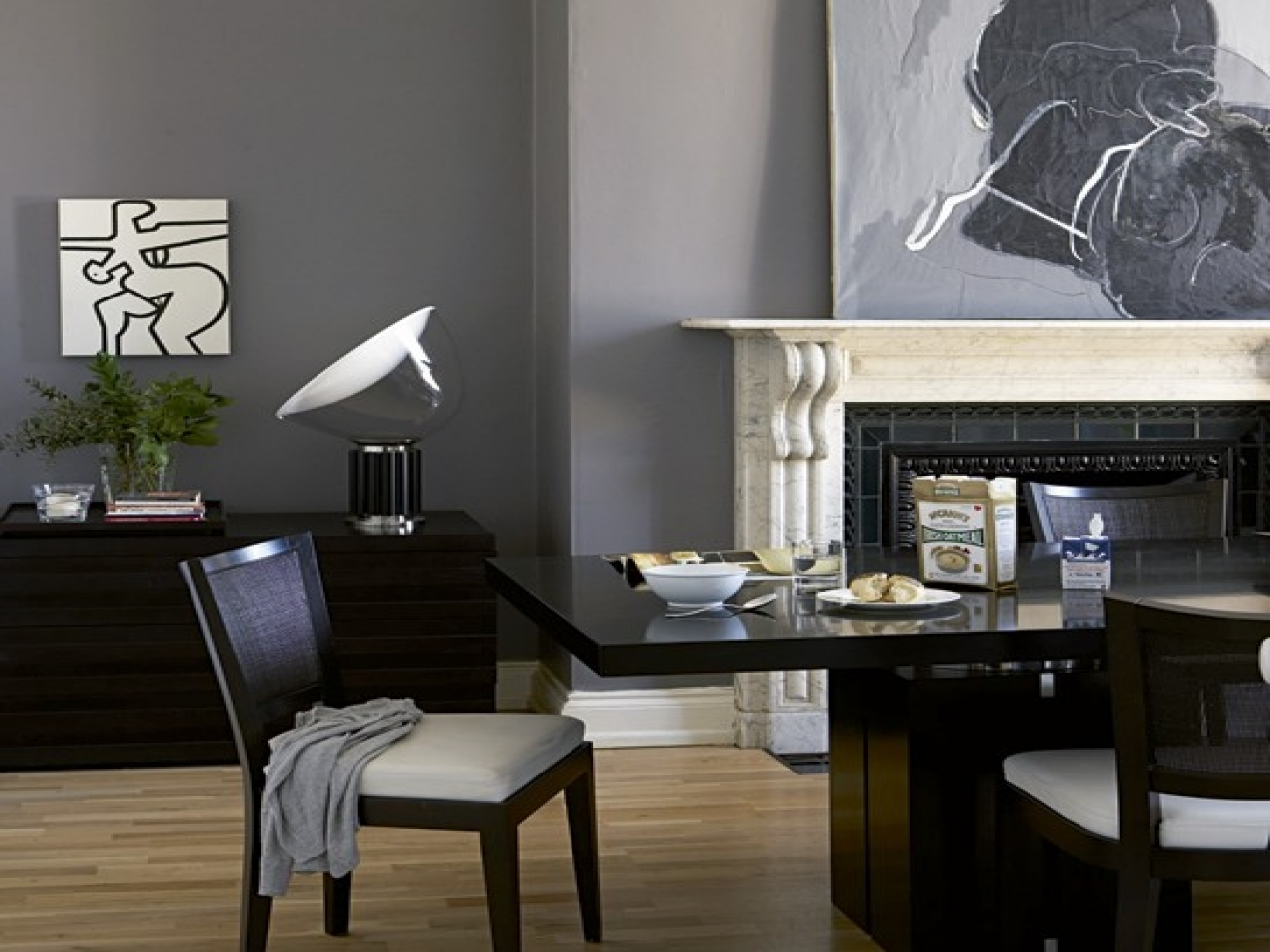 Spell dining room slate grey living room gray paint