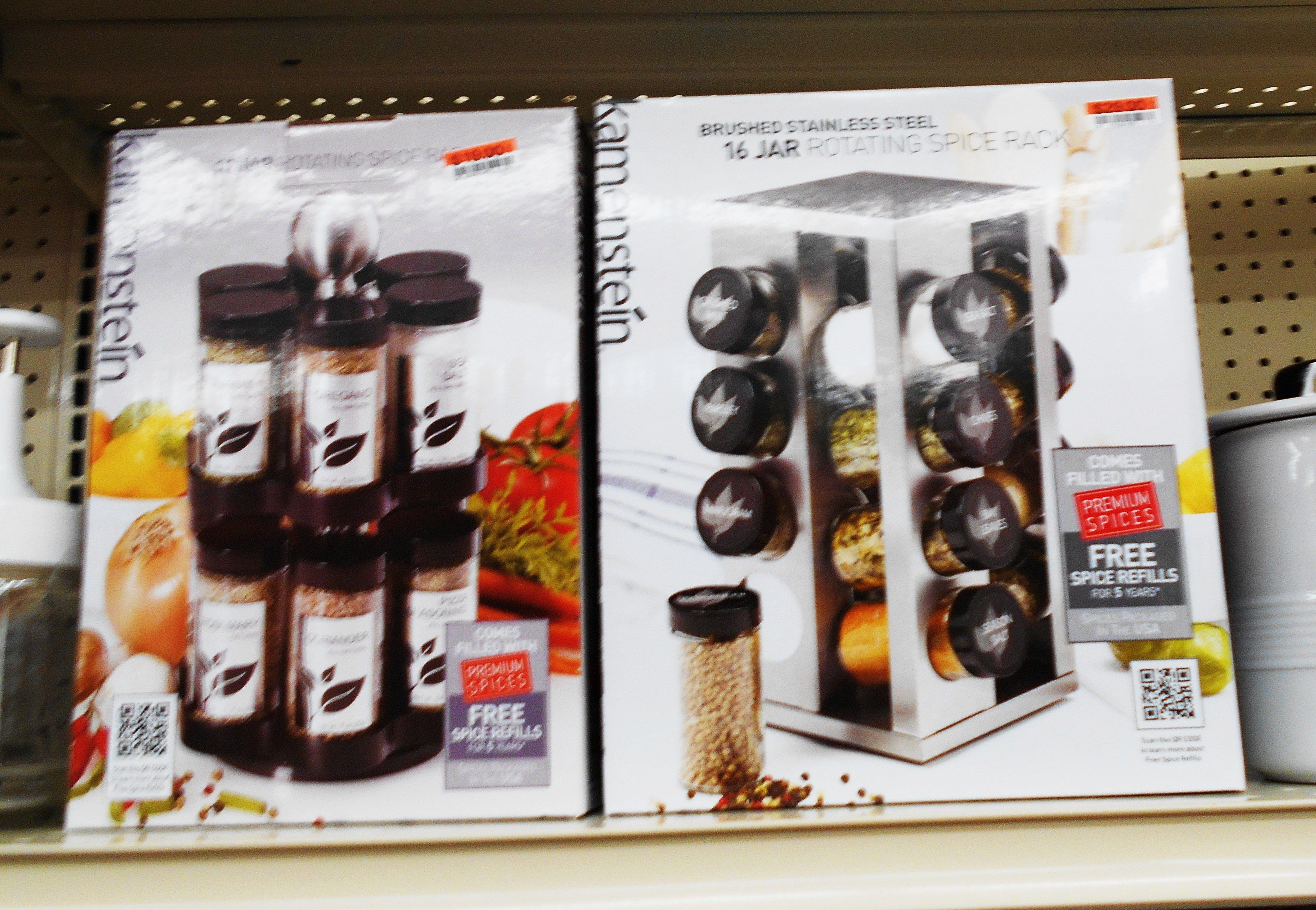 Spice racks from Big Lots  Spice rack Big lots Spices