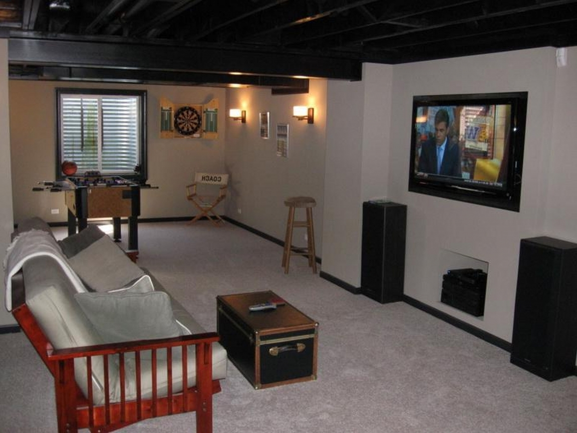 Tiny basement redo small unfinished basement ideas small