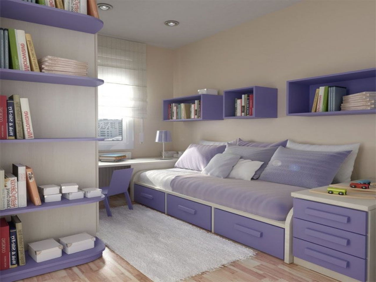 Very small bedroom for teenagers girls best small bedroom