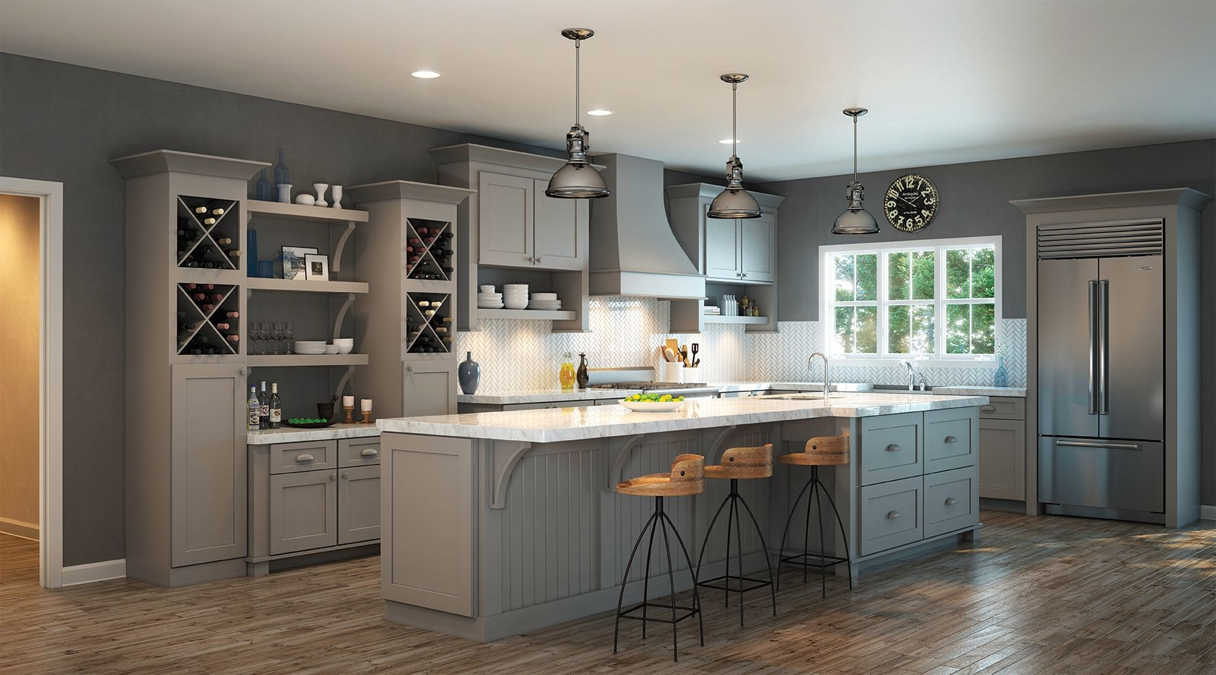 Waypoint Living Spaces  Style 650 in Painted Stone