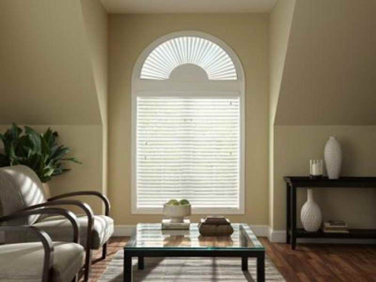 Window cover ideas arch window blinds half arch window
