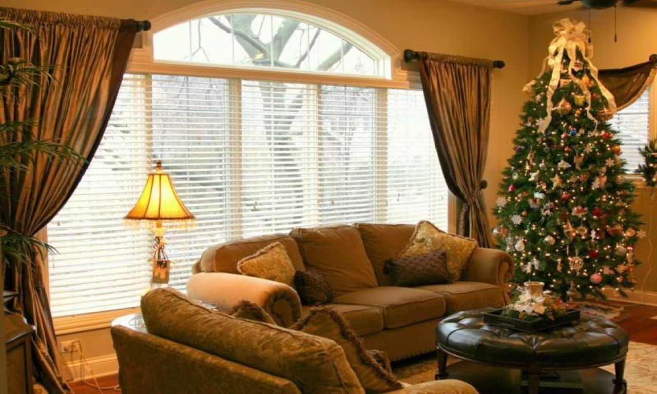 Window treatment ideas for large windows room decorations