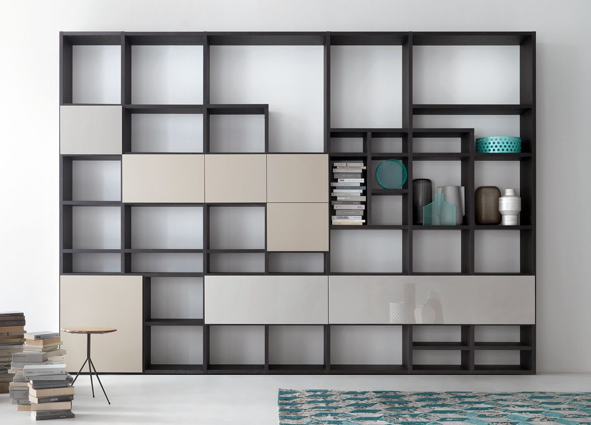 home library wall  Bookcase wall unit