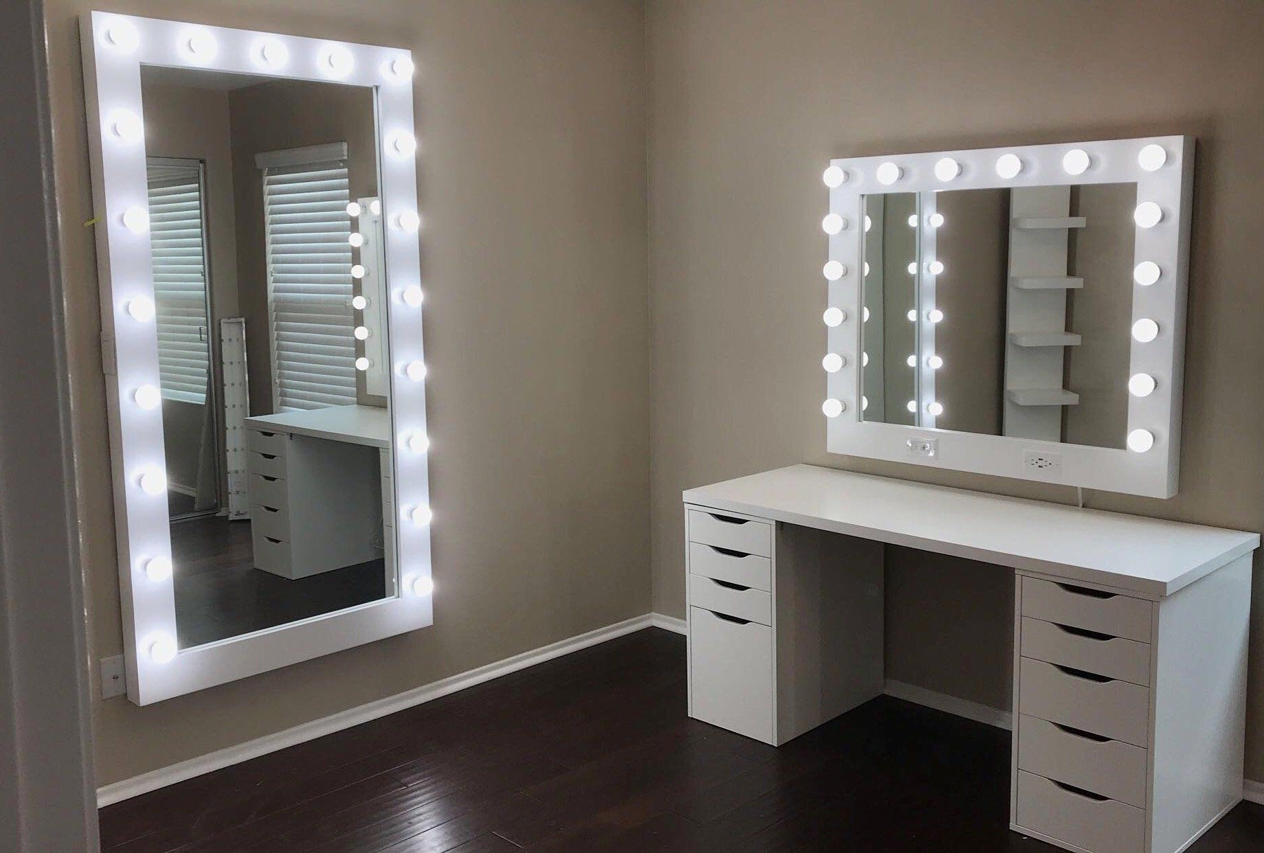 vanities hollywood vanity mirror lighted mirrors vanity